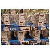 [含兩個濾芯] Kirkland (最高容量4L) 2.4L 白色 Pitcher 10杯 濾水壺 (含2支8周圓形濾芯) 可過濾151公升