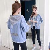 牛仔外套少女夏季裝裝2019新款韓版初中高中學生寬鬆百搭短款上衣服