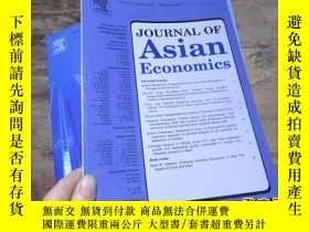 二手書博民逛書店journal罕見of asian economics vol