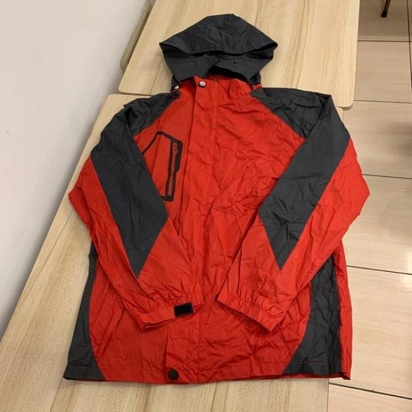 基本款戶外登山連帽風衣外套(L號/121-5079)