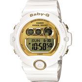 CASIO 卡西歐 Baby-G 經典率性運動錶-白 BG-6901-7DR / BG-6901-7