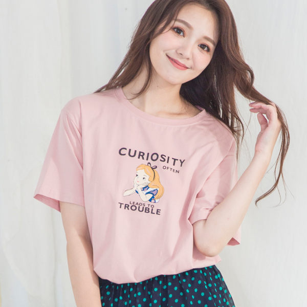 艾莉絲棉質T-shirt(4色)