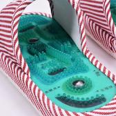 磁療按摩拖鞋男女防滑足療鞋足底腳底鵝卵石按摩鞋春秋季 【快速出貨】