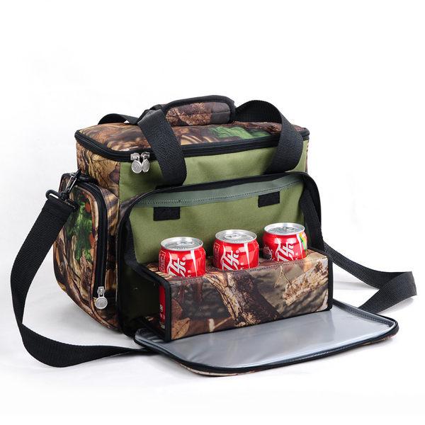519新品迷彩野餐包 保溫包 冰包 便當包戶外車載移動冰箱冰包大號    SSJJG【時尚家居館】