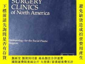 二手書博民逛書店facial罕見plastic surgery clinics of north amerciaY27904