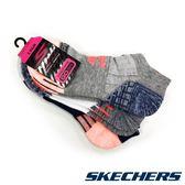 SKECHERS 女款運動短襪 S111718-043 (3雙1包) / 城市綠洲 (美國品牌、透氣、吸濕排汗、運動休閒)