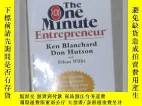 二手書博民逛書店英文原版罕見The One Minute Entrepreneu