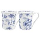 英國骨瓷小馬克杯-RHS皇家園藝授權系列 (共兩款花色可選)