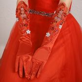 韓式新娘手套長款蕾絲白色婚紗