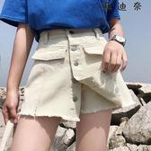 【全館8折】A字學生百搭牛仔褲單寧短褲