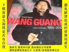 二手書博民逛書店2手英文罕見Wang Guangyi: Works and Th