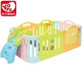 兒童門欄兒童游戲圍欄兒童進口玩具寶寶學步爬行安全柵欄(無滑梯)XW 【降價兩天】