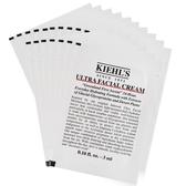 KIEHL'S 契爾氏 冰河醣蛋白保濕霜(3ml)X17 超越正貨容量組(51ml)