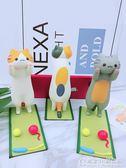 小貓咪手機支架桌面可愛卡通創意平板懶人支撐架看電視手機座 概念3C旗艦店