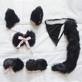 阿和家狐貍尾巴兔子尾巴兔球毛球毛絨女丁字褲T字褲情趣內褲 百搭潮品