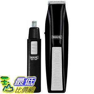 [1美國直購] Wahl 5537-1801 Cordless Battery Operated Beard Trimmer 刮鬍刀 鼻毛器 修容套件組