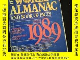 二手書博民逛書店THE罕見WORLD ALMANAC AND BOOK OF FACTS 1989 (英文)Y16149