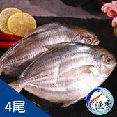 【漁季】黃尾鯧*4尾(150g±10%/尾)