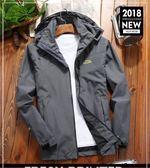 登山外套戶外冬季沖鋒衣男女可拆卸外套防風透氣春秋薄款單層 Ic2901『MG大尺碼』