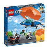 樂高積木LEGO 城市系列 60208 航警降落傘追捕