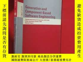 二手書博民逛書店Generative罕見and Component-Based Software En... (小16開 ) 【詳