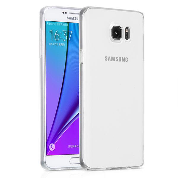 Samsung Galaxy Note 5 高質感雙料材質 透明TPU+PC手機殼/保護套