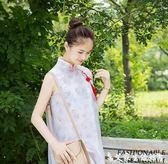 2018改良旗袍漢服中式漢元素時尚日常古風女裝連衣裙民國風夏 艾家生活館