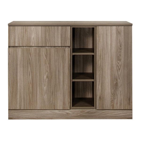 【Arkhouse】伯利恆系列-餐廳單抽雙門八格精選矮櫃 W120*H92*D40