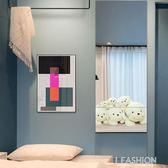 全身鏡組合全穿衣鏡壁掛墻粘貼落地鏡臥室拼接鏡宿舍試衣鏡子貼墻-ifashion
