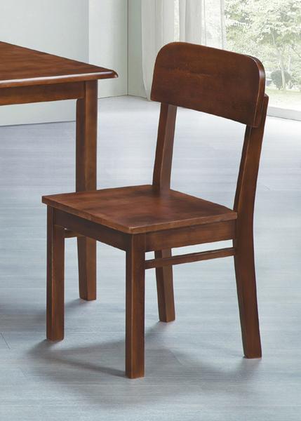 781-9 優雅餐椅(灰胡桃色) W43×D47×H89公分