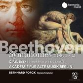 【停看聽音響唱片】【CD】貝多芬:第1,2號交響曲 柏林古樂學會樂團