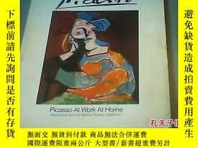 二手書博民逛書店picasso罕見at work at home13809 Ge