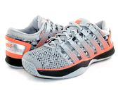 【K-SWISS】 Hypercourt 2.0專業網球鞋-男-灰/黑/螢光橘05394-072