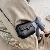 斜挎包 高級感小包包女新款潮單肩斜背包時尚百搭網紅夏天錬條包 3C優購