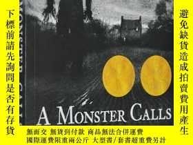 二手書博民逛書店英文原版小說罕見A Monster Calls 怪物來敲門 獲獎