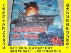 二手書博民逛書店航母之戰罕見CARRIERS AT WAR 大盒子 電腦遊戲Y2