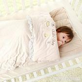 春秋冬季純棉嬰兒睡袋新生兒加厚款寶寶嬰幼兒小孩防踢被兒童被子  居家物語