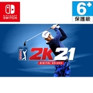 任天堂 NS SWITCH PGA TOUR 2K21 PGA 巡迴賽 PGA 巡迴賽 數位豪華版