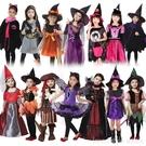 萬聖節兒童服裝女童cosplay表演斗篷...