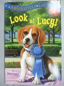 【書寶二手書T9/原文小說_MRB】Look at Lucy!_Cooper, Ilene/ Merrell, Davi