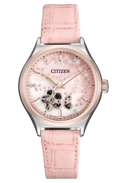 【分期0利率】星辰錶 CITIZEN 機械錶 9顆天然鑽石 34mm 原廠公司貨 PC1016-81D