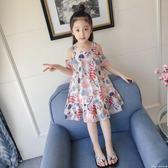 女童夏裝新款兒童夏裝韓版洋裝中大童女孩公主裙洋氣裙子夏艾美時尚衣櫥
