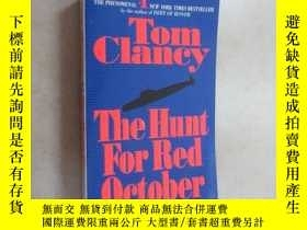 二手書博民逛書店外文書罕見TOM CIANCY THE HUNT FOU RED