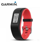 GARMIN vivosport GPS 智慧健康心率手環 珊瑚紅(S/M)