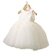 女童禮服公主裙女童夏裝連衣裙兒童洋氣裙子夏小童寶寶周歲禮服蓬蓬紗夏款 嬡孕哺