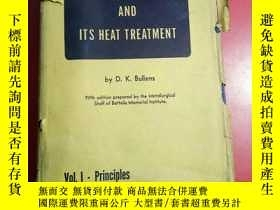 二手書博民逛書店STEEL AND ITS罕見HEAT TREAT MENT(鋼