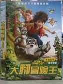 影音專賣店-B24-088-正版DVD*動畫【大腳冒險王】-國英語發音