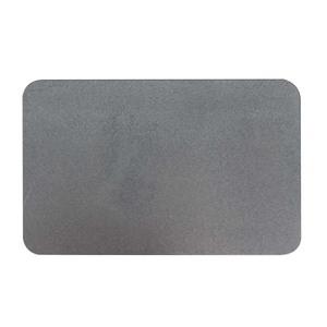 樂嫚妮 3入加大珪藻土吸水速乾地墊-60X39cm-灰灰