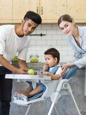 嬰兒餐桌椅Karma baby寶寶餐椅吃飯可折疊便攜式兒童座椅多功能嬰兒餐桌椅 Igo 免運