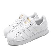 adidas 休閒鞋 Superstar Bold 白 金 金標 厚底 增高 女鞋 小白鞋 【ACS】 FV3334